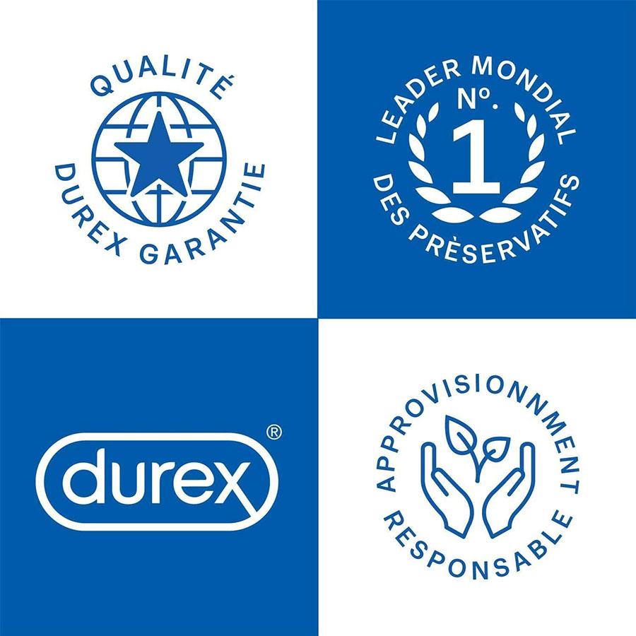 Test Durex - Gel Lubrifiant Sexuel Naturel - Lubrifiant intime à base d'eau