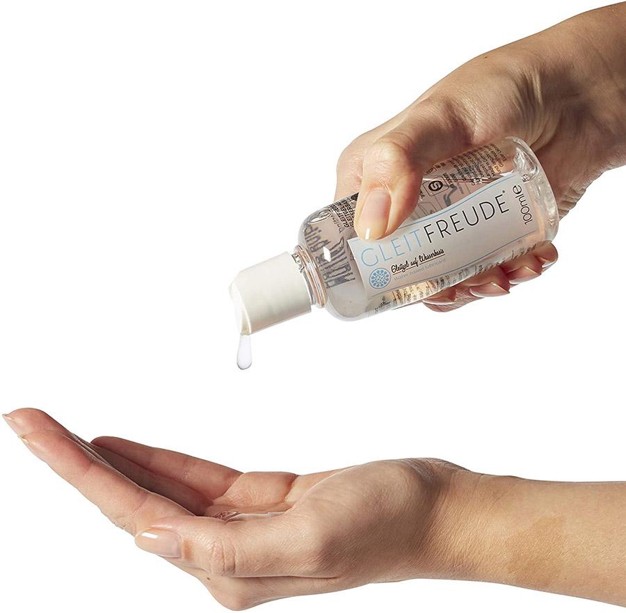 avis Deluxe Aqua Gel lubrifiant GLEITFREUDE Gel lubrifiant à base d'eau avec l'effet de longue durée